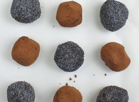 Kakaowe trufle śliwkowe