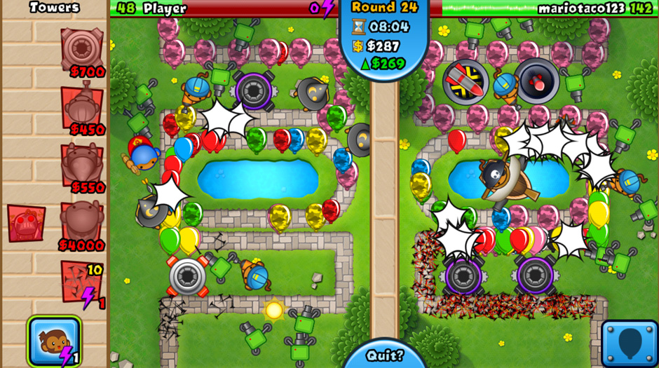 Bloons tower defense 4 apk mod   Download Bloons TD Battles