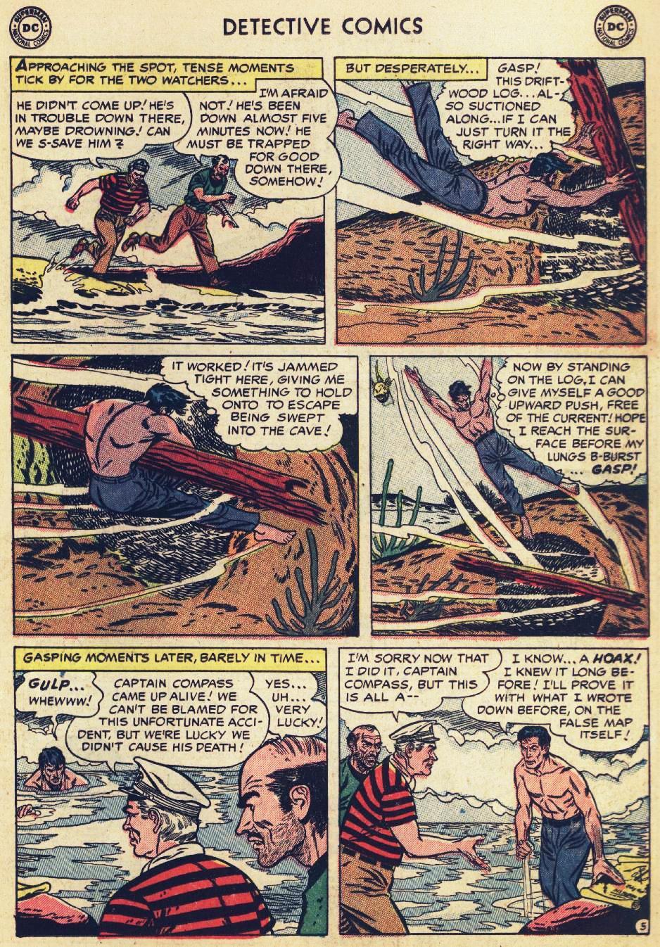 Read online Detective Comics (1937) comic -  Issue #215 - 19
