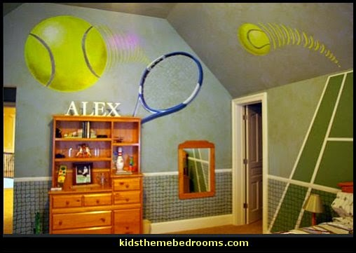 Decorating Theme Bedrooms Maries Manor Girls Sports Themed Bedroom Decorat