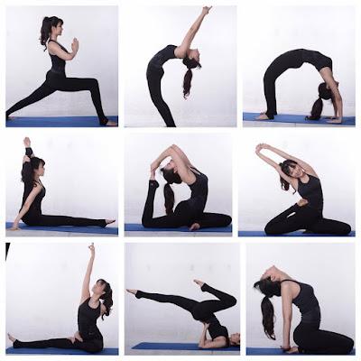 Các tư thế yoga đẹp hoa hậu Nguyễn Thu thủy