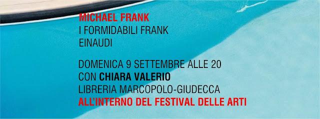 Michael Frank alla MarcoPolo-Giudecca