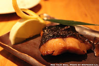 Gindara Yuan Yaki: Grilled Fillets of Cod Fish Steeped in Sweet Soy Sauce at Sakagura