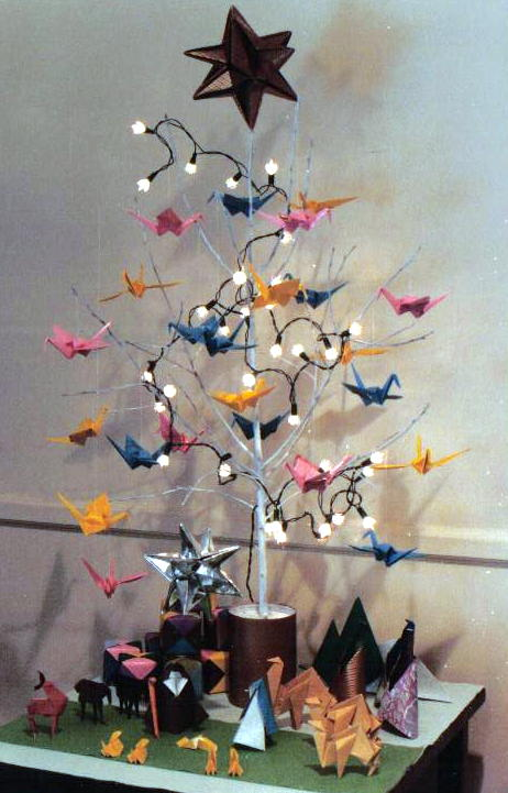Father Julians Blog Origami Christmas Tree