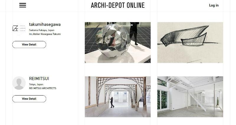 índice de portfolios archi-depot online