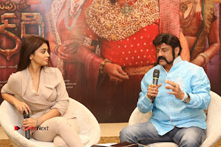 Shriya Saran Nandamuri Balakrishna at Gautamiputra Satakarni Team Press Meet Stills  0167.JPG