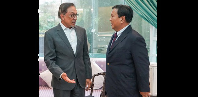 Di Tangan Prabowo dan Anwar, Indonesia-Malaysia Kembali Merajut Hubungan Bangsa Serumpun