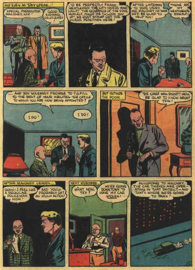 Read online Action Comics (1938) comic -  Issue #26 - 36