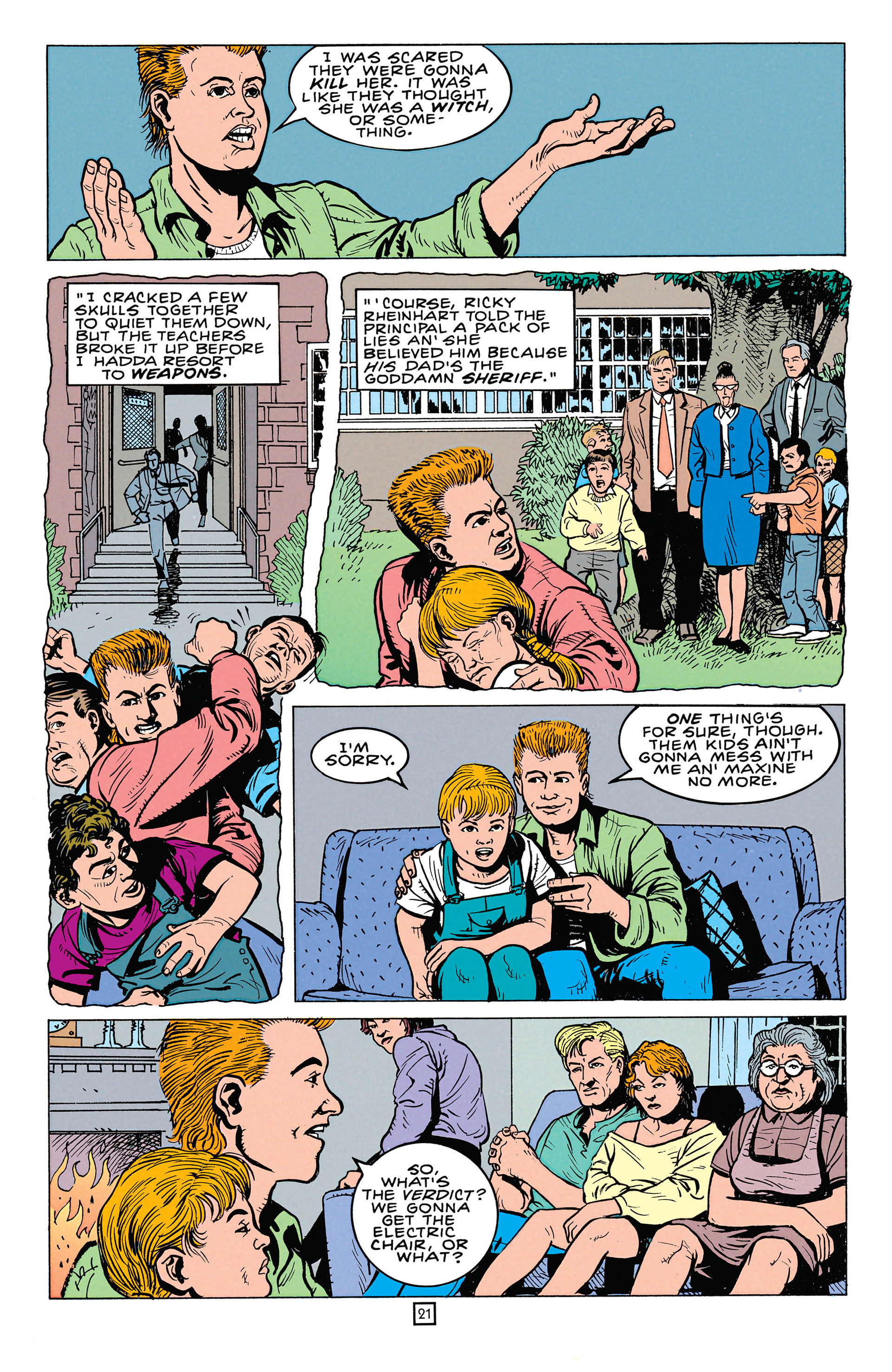 Read online Animal Man (1988) comic -  Issue #64 - 22