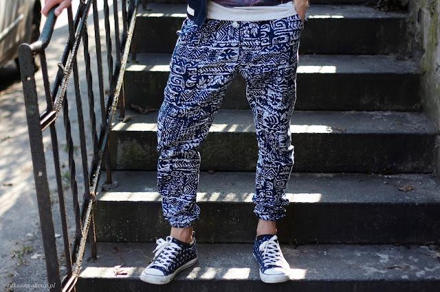 spodnie alladyny męskie