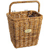Nantucket Bike Basket Co Cisco Collection Pannier Bicycle Basket with Hooks