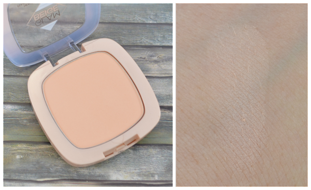 L'oréal Glam Beige healthy glow Powder und Swatch