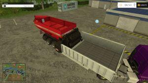 Fliegl Crusher big trailer