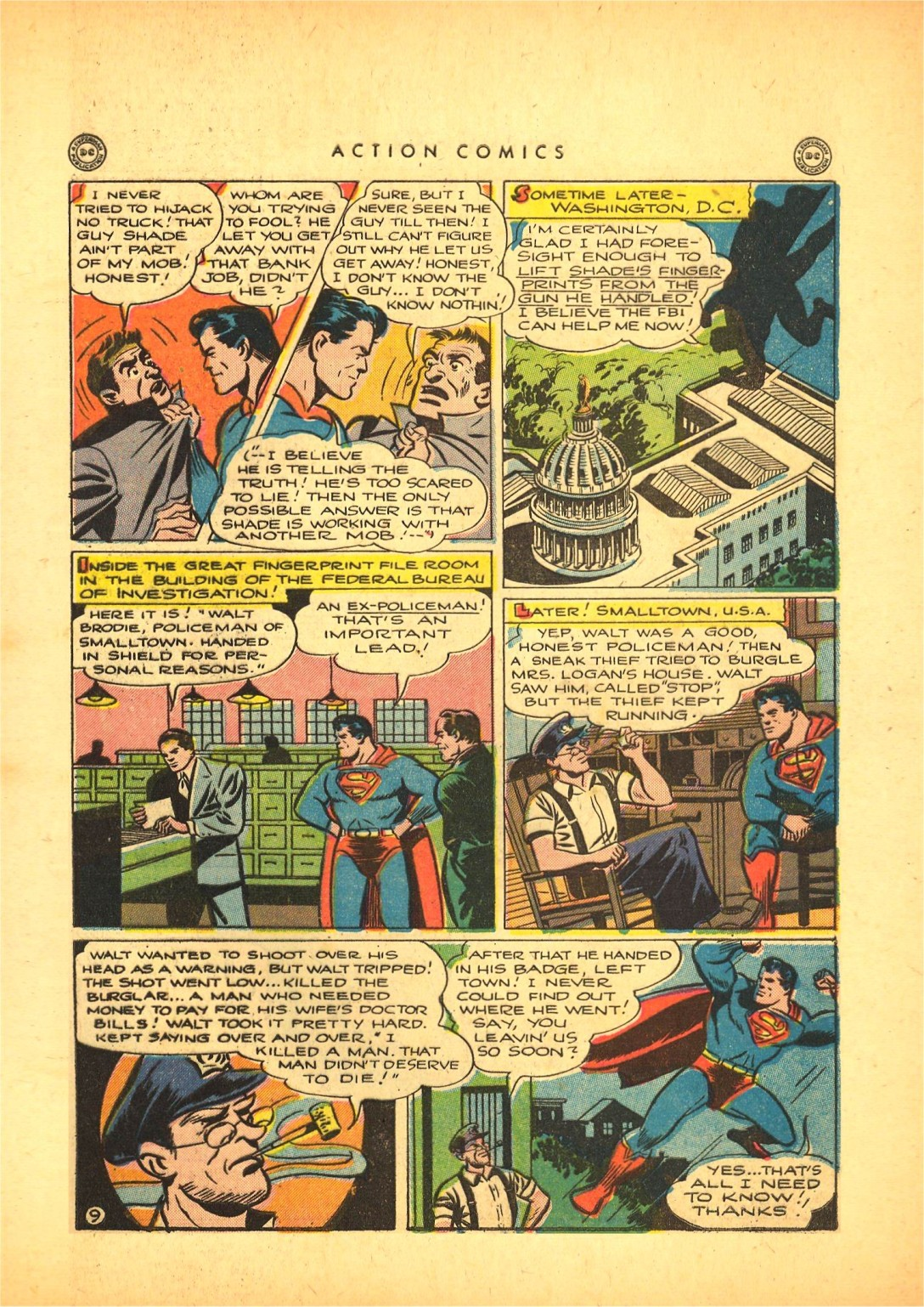 Read online Action Comics (1938) comic -  Issue #87 - 10