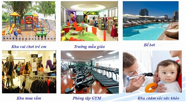 Hệ thống tiện ích dự án Vinhomes Bắc Ninh