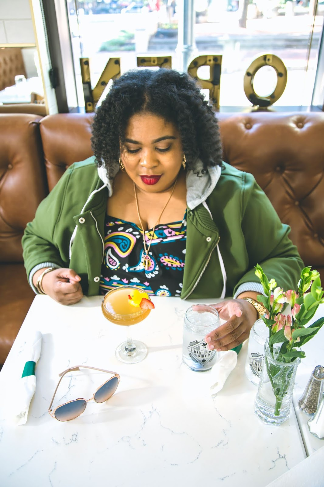 The Low Country Socialite, Kirsten Jackson, Savannah Georgia, Hinesville Georgia, Plus Size Blogger, Little Duck Diner