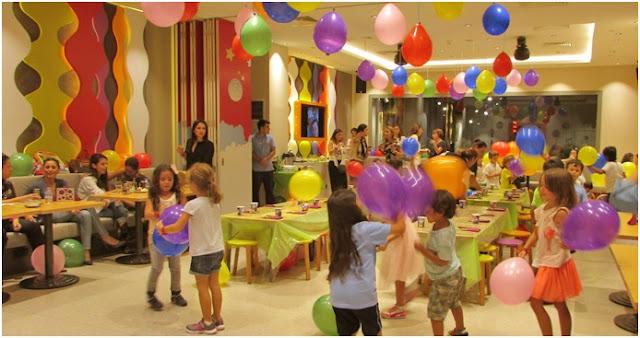 çocuklar için parti mekanları