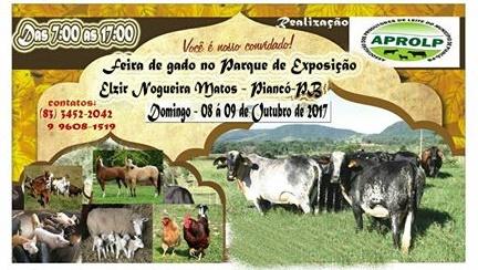 Feira de gado movimenta a economia e o setor agropecuário do Vale do Piancó