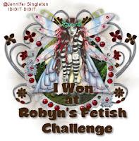 I Won at Robyn's Fetish Badge