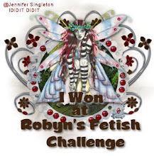 Winner at Robyn's Fetish Challenge
