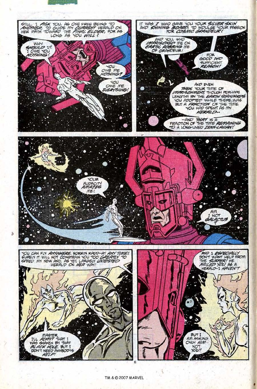 Read online Silver Surfer (1987) comic -  Issue #10 - 10