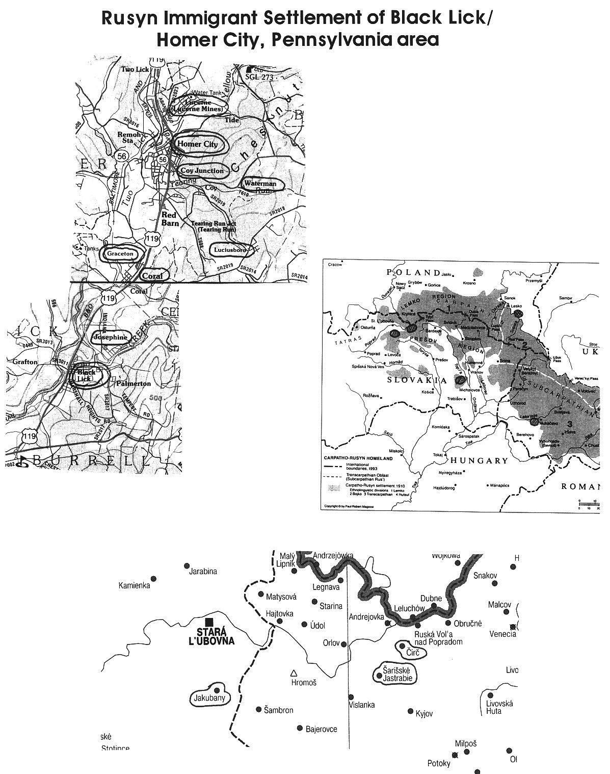 The Carpatho-Rusyns of Pennsylvania: The Question of Slovaks