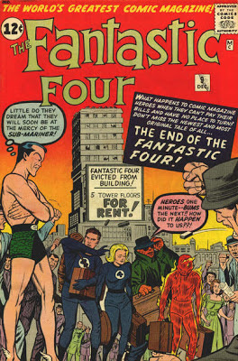Fantastic Four #9, the Sub-Mariner