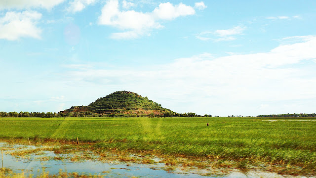 Изображение холма среди поля