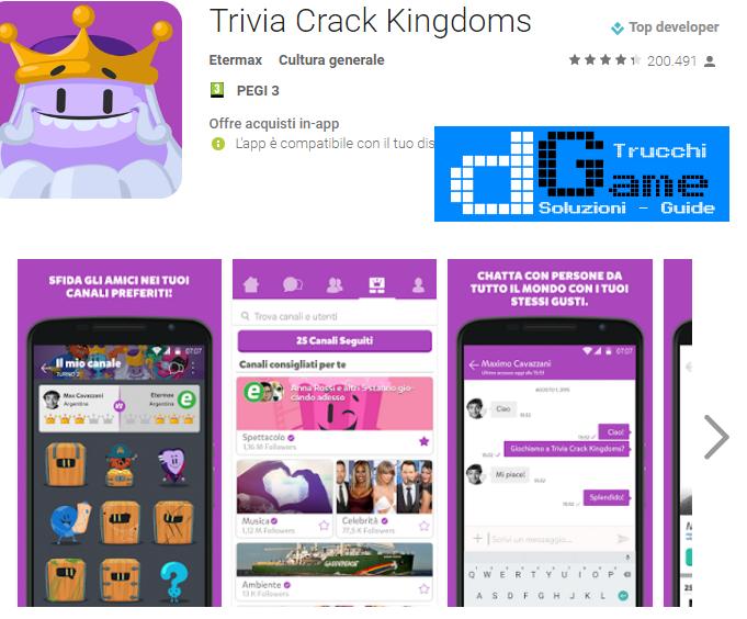 Trucchi Trivia Crack Kingdoms Mod Apk Android v1.6