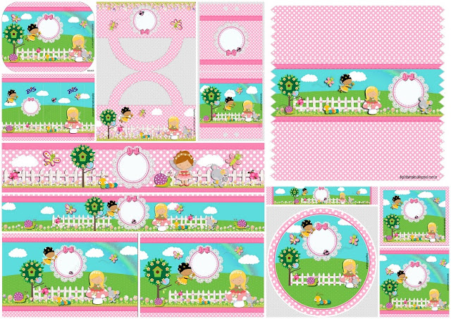 Fairy Garden: Free Printable Candy Bar Labels.