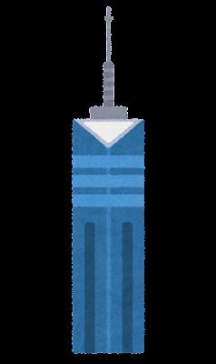 福岡タワーのイラスト
