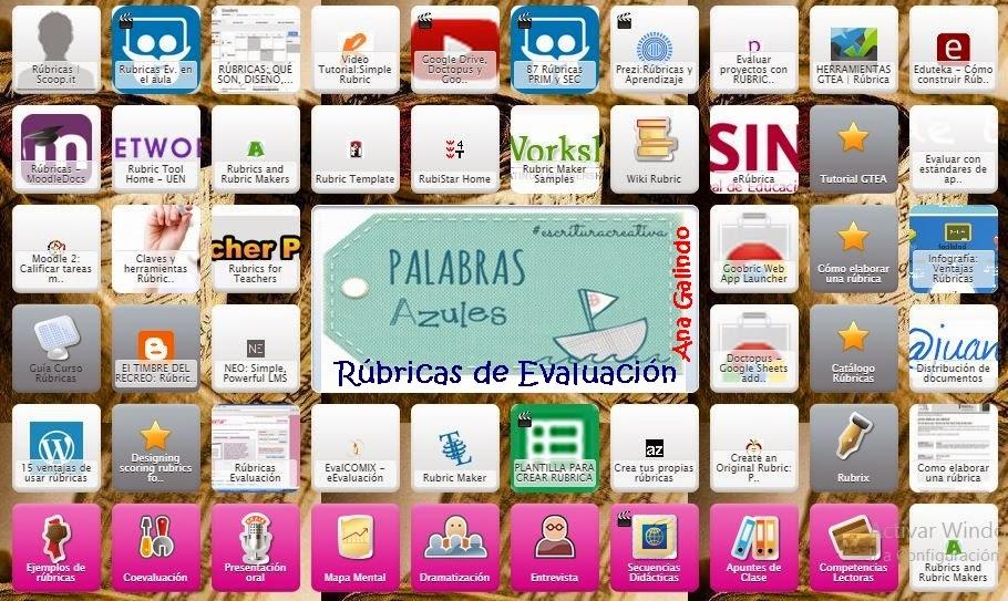 Symbaloo: Las Rúbricas, herramientas para la evaluación.   PaLaBraS ...