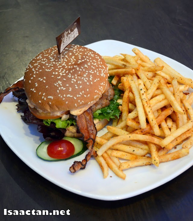 #4 Pork and Bacon Burger - RM28