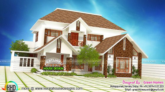 Remodeling house plan by Green Homes, Malappuram