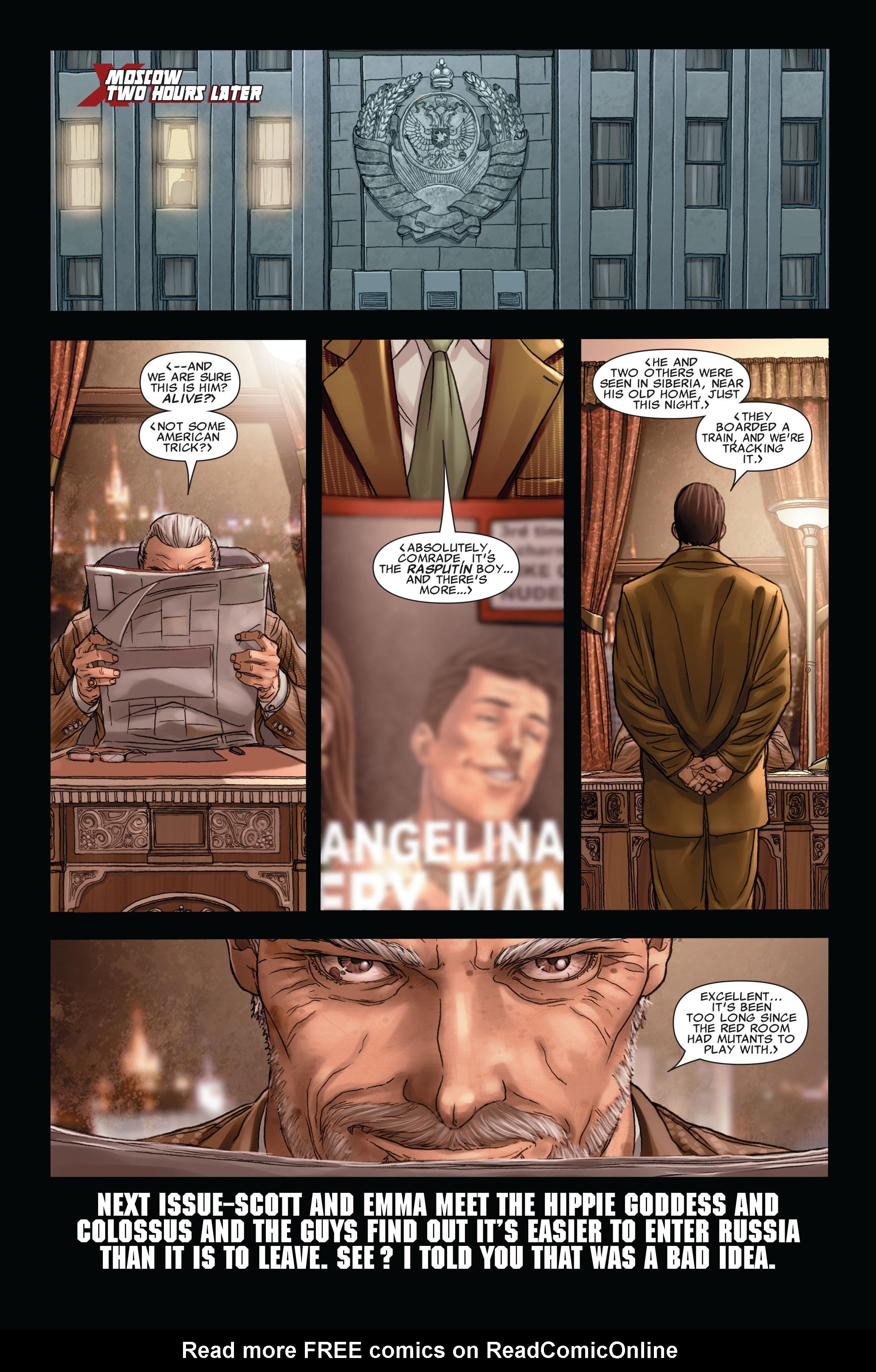 Read online Uncanny X-Men (1963) comic -  Issue #496 - 24