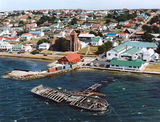 De viajeros por las Islas Malvinas o Falkland Islands 9