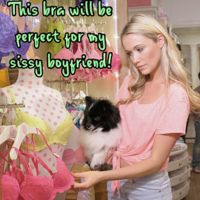 Perfect for my sissy Boyfriend - Sissy TG Caption