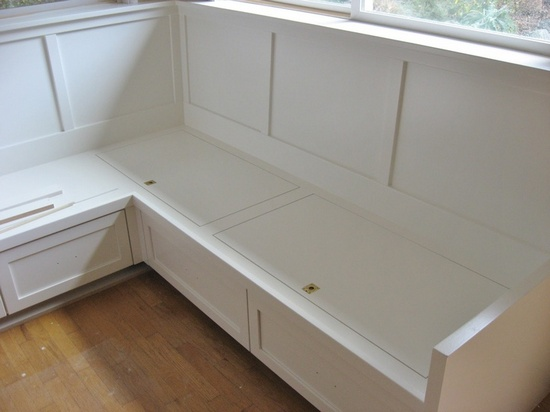 Kitchen Corner Bench Seating With Storage