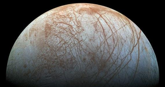 Jupiter's moon Europa. Credit: NASA/JPL-Caltech/SETI Institute