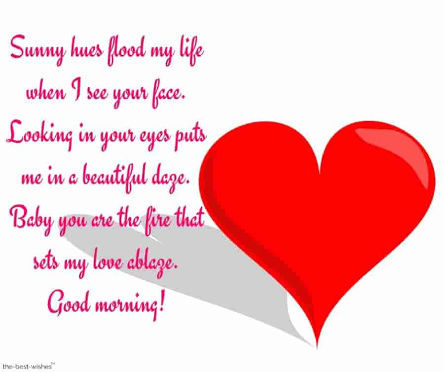 nice good morning message for husband
