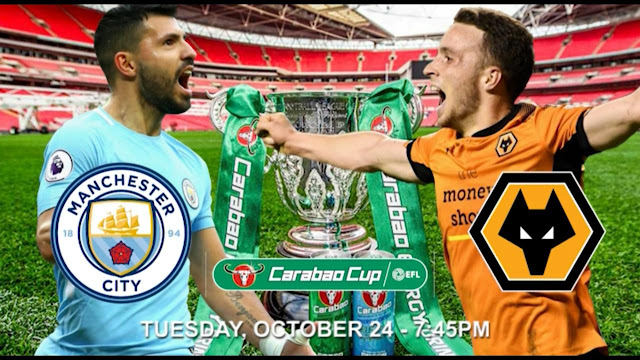 new gersy/ Manchester City vs Wolves: EFL Cup