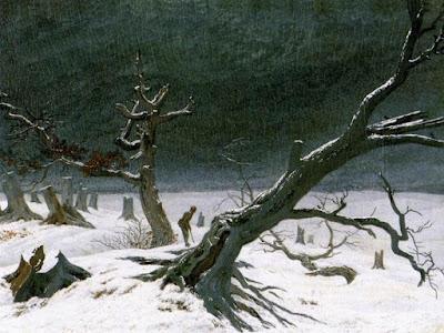 Friedrich, zima