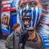 Lukisan Free West Papua Di Dinding Jalanan Camden, London, UK