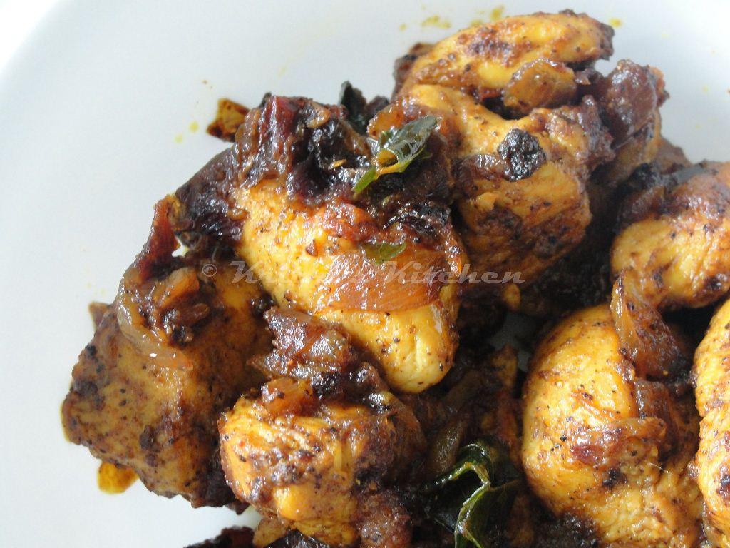 Krithi's Kitchen: Chicken Chukka / Easy Indian Chicken ...