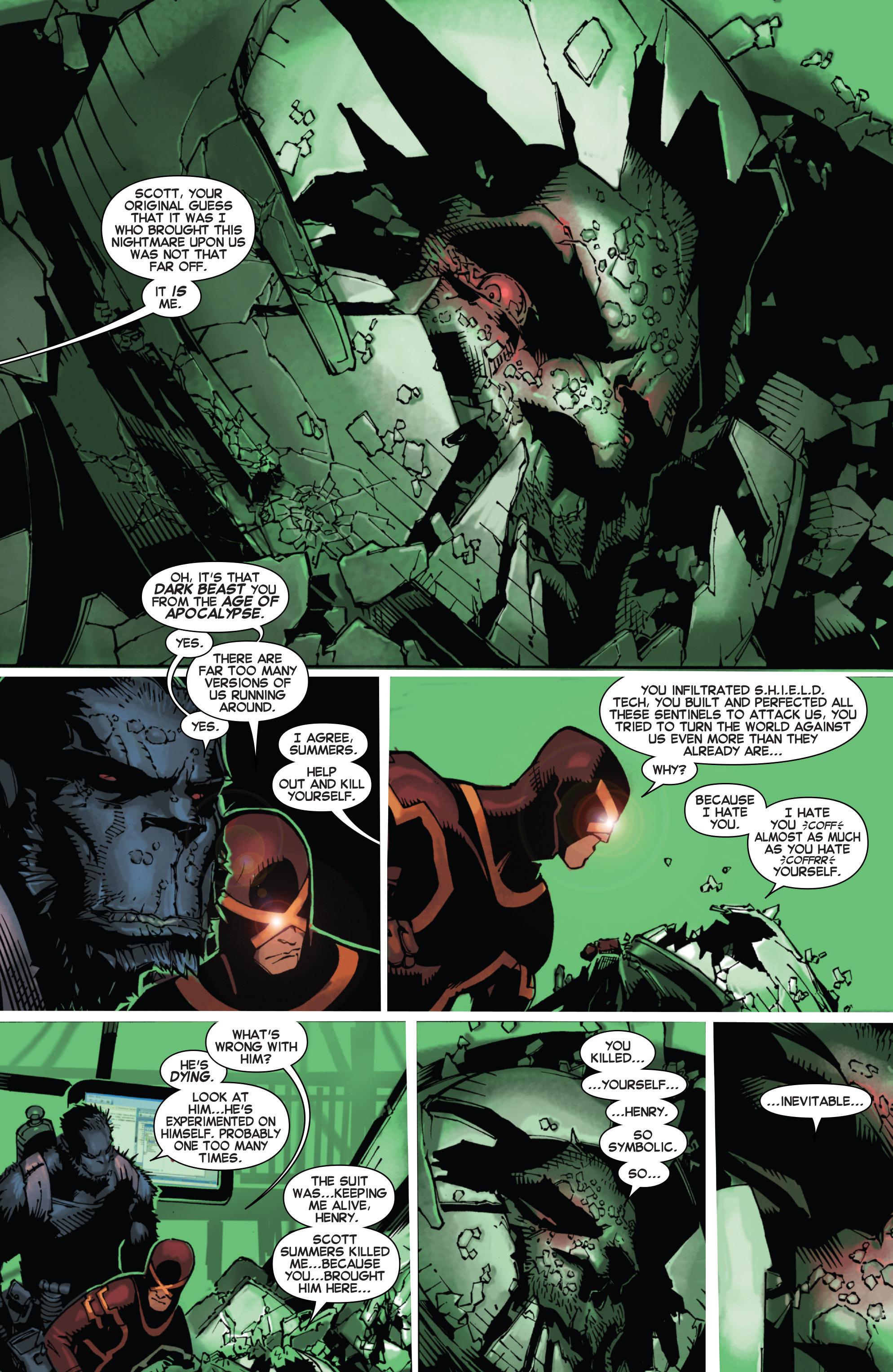 Read online Uncanny X-Men (2013) comic -  Issue #22 - 16