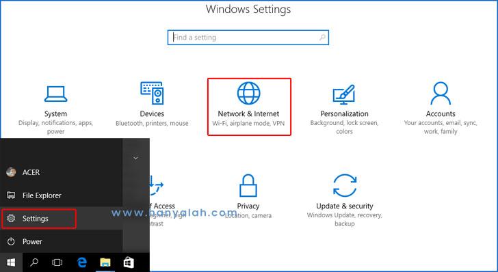 Cara Mengaktifkan dan Menonaktifkan Mobile Hotspot di Windows 10 Tanpa Software