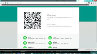 واجهة تفعيل خدمة الويب واتس اب علي الكمبيوتر web.whatsapp on PC authentication page