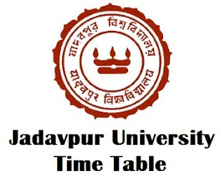 Jadavpur University Exam Routine 2017 Download Now