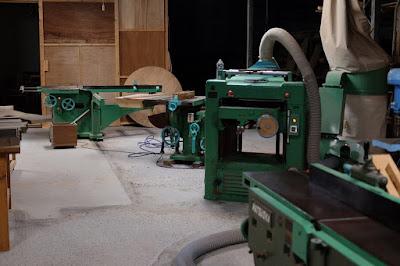 愛知県瀬戸市の家具工房 MOST furniture 木工機械