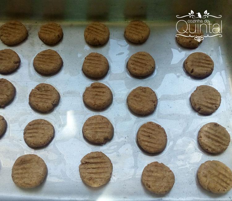 Cookies prontos para ir ao forno
